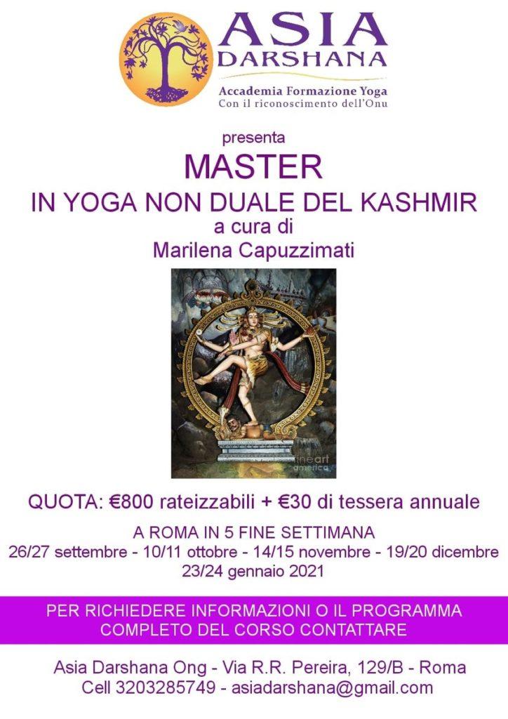 Master in Yoga non duale del Kashmir