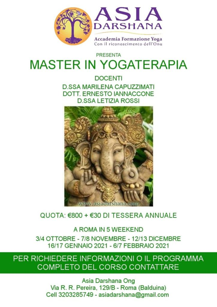 MASTER INYOGATERAPIA