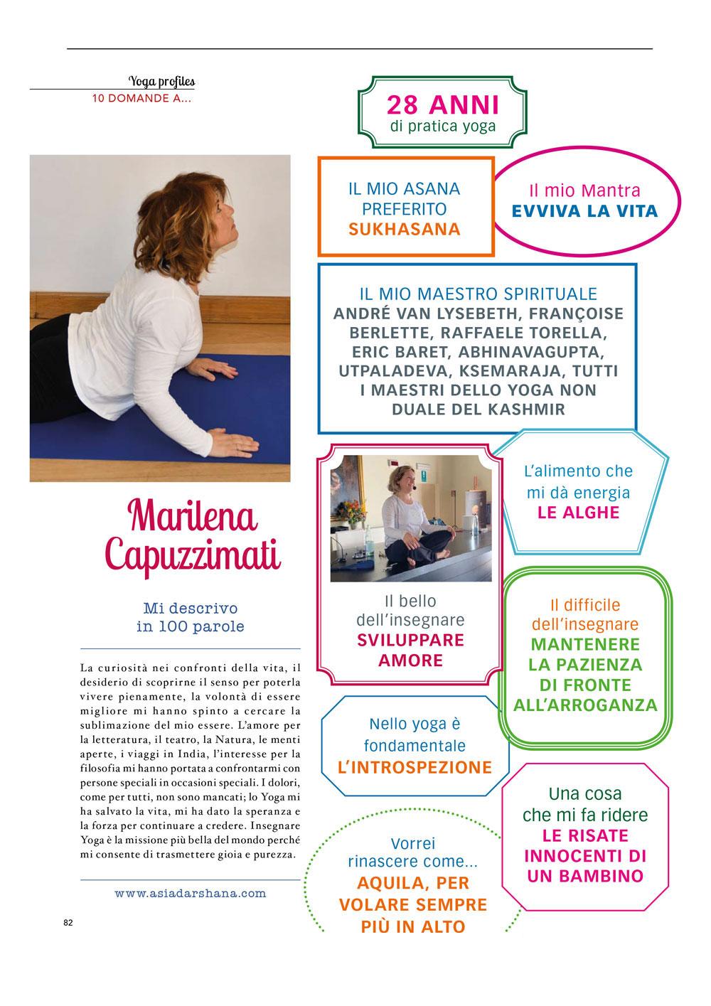 10 domande a Marilena Capuzzimati